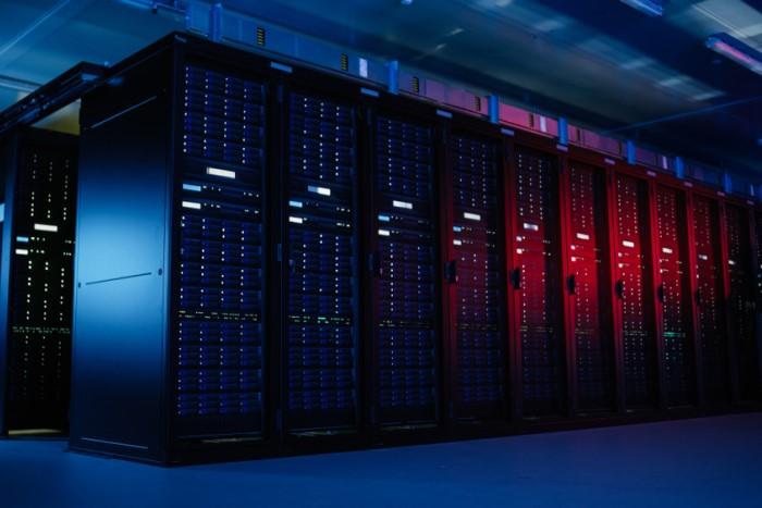 máquinas de armazenamento de data center