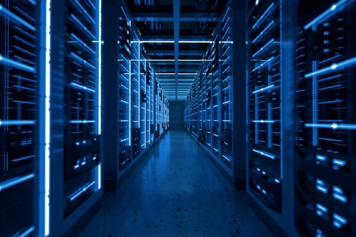 servidores em data center