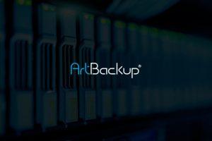 imagem de servidor com logo do artbackup